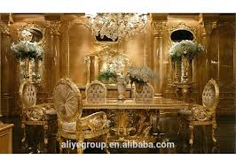 Baroque Dining Table Gdm 014 Royal Wedding Dining Table Sets Baroque Dining Room Luxury
