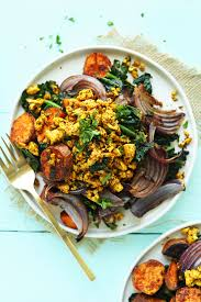 Roast Vegetable Recipe by Sweet Potato Kale Breakfast Hash Minimalist Baker Recipes