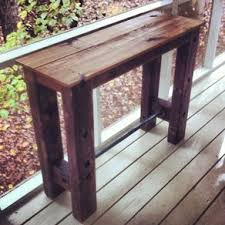 reclaimed wood entry table reclaimed wood entry table by jerry channell woodworking design