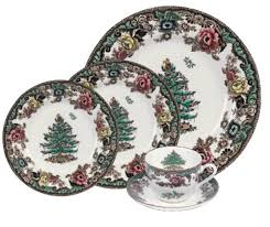spode tree grove 5 place setting service for 1