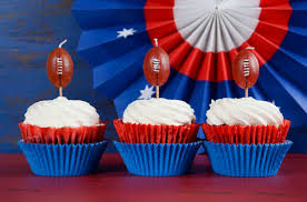Red White And Blue Chocolate Game Day Dessert Red White And Blue Chocolate Cream Cheese