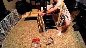 Scarpiera Hemnes Ikea by Ikea Hemnes Assembly Youtube