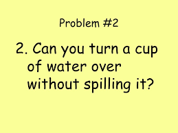 Water Challenge Directions The Scientific Method Challenge Directions 1 Take Out A Sheet Of