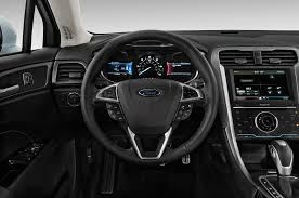 ford crossover black 2016 ford fusion energi steering wheel interior photo automotive com