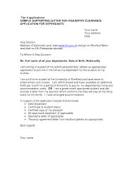 Letter Visa Application Exle Sle Cover Letter Uk Uk Cover Letter Exles 9 Nursery