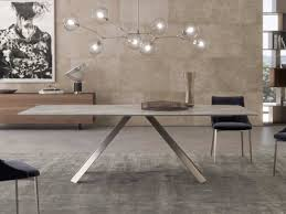 rectangular dining table pranzo by scab design