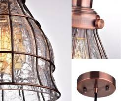 wire cage l shade glass l shades tag cracked glass pendant light ceiling shade
