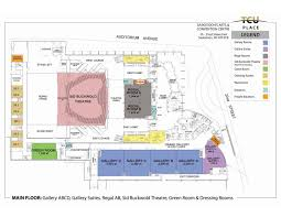 tcu place saskatoon s arts convention centre floor plans more details