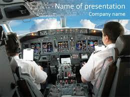 mcdu deck aviation powerpoint template id 0000006673