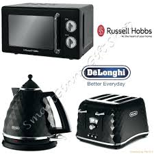 Delonghi Icona 4 Slice Toaster Black Kalorik Water Kettle Russell Hobbs Retro Microwave Delonghi
