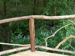 lise s log cabin life building rustic deck railing we re lise s log cabin life