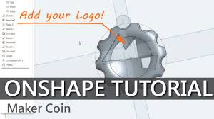 Home Design Free Coins by How To Cad Your Own Maker Coins In Onshape Youtube