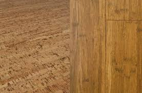 sustainable floors cork and bamboo flooring ideas