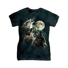 three wolf moon t shirt the mountain