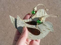 Birch Bark Deer Christmas Decorations best 25 birch bark crafts ideas on pinterest birch bark diy