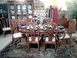 China Cabinet And Dining Room Set Gorgeous Alexander Julian Dining Room Set With 8 Chairs The Table