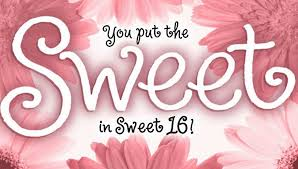 Sweet Birthday Cards Sweet 16 Birthday Card By Sherry Seely Redbubble