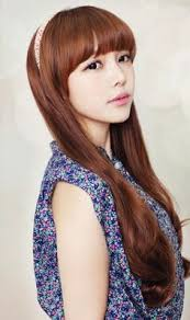 asian headband korean hair on blunt bangs korean hairstyles and