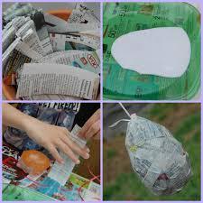 papier mache easter eggs paper mâché easter eggs diy craft