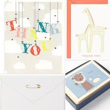 baby shower notes baby shower thank you notes popsugar