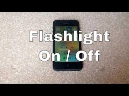 How To Turn Off Iphone Light Details On