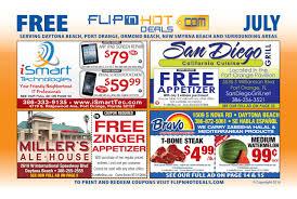 flip u0027nhot deals coupon book july 2016 daytona beach area by flip