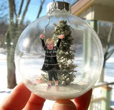 make a snow diorama glass ornament 5 steps with pictures