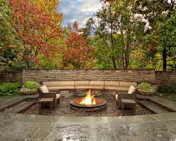Backyard Landscaping With Fire Pit - patio designs with fire pit and tub design ideas 1458 ideas
