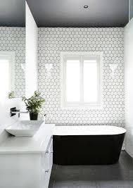 monochrome bathroom ideas bathroom decor crush the black bath tub
