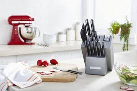 Walmart Kitchen Knives Kitchenaid Classic Forged 14 Piece Knife Set Walmart Canada