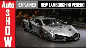 New Lamborghini Veneno - new lamborghini veneno all you need to know youtube