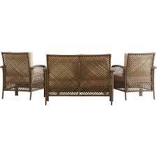Outdoor Sofa Cushion Beachcrest Home Niceville 4 Piece Deep Seating Group With Cushion