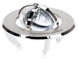 pendule de bureau sphère créations glf