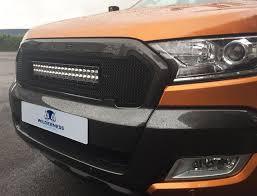 Ford Ranger Options Ford Ranger Mesh Grille U0026 Curve Light Bar