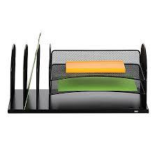 safco onyx mesh desk organizer safco usb powered onyx mesh desk organizer 3 horizontal3 upright