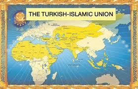 New Ottoman Empire Map Of Ultra Nationalist Turkish Islamic Map Maps Pinterest