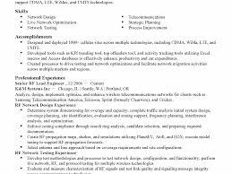 Network Design Engineer Resume Rf Engineer Resume Sample Engineering Technician Resume Samples
