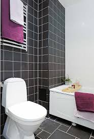 Black Bathrooms Ideas by Luxury Purple And Black Bathroom 44 With Additional Minimalist