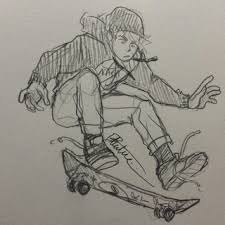 skateboarding drawings on paigeeworld pictures of skateboarding
