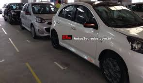 nissan micra active india nissan micra rio 2016 special edition spied in brazil