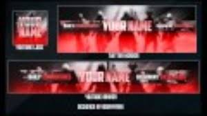 template youtube photoshop cc free gfx template free gaming rebrand v1 youtube banner avatar