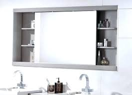 recessed bathroom mirror cabinet recessed bathroom mirror medium size of semi recessed medicine