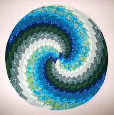 quilt pattern round and round bargello quilt uses instructions and patterns stitch piece n purl
