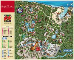 Map Of Riviera Maya Mexico by Occidental Grand Xcaret Travel By Bob