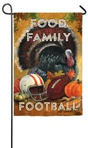 evergreen suede food family football thanksgiving
