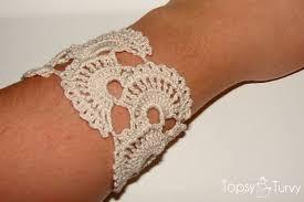 bracelet crochet patterns images Queen anne 39 s lace crochet tutorial bracelet ashlee marie jpg