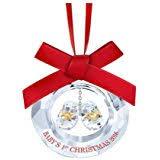 amazon com swarovski scs 2009 annual christmas ornament home
