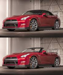 convertible nissan nissan gt r convertible launched in rendering ultimate car blog