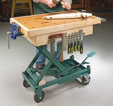 Work Bench Table Workbenches Carts U0026 Stands Woodsmith Plans