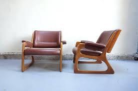 vintage siege fauteuil design annee 60 70 vendu paire fauteuil baumann vintage